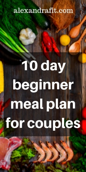 10 day meal pin