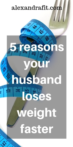 husband lose weight pin