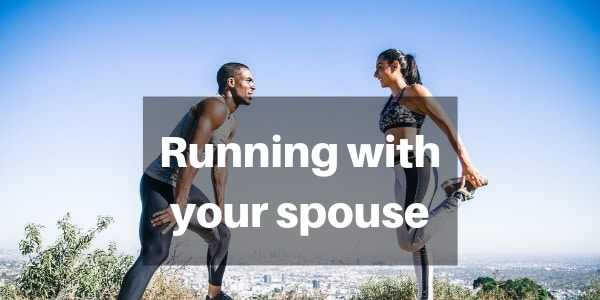 running with spouse cover