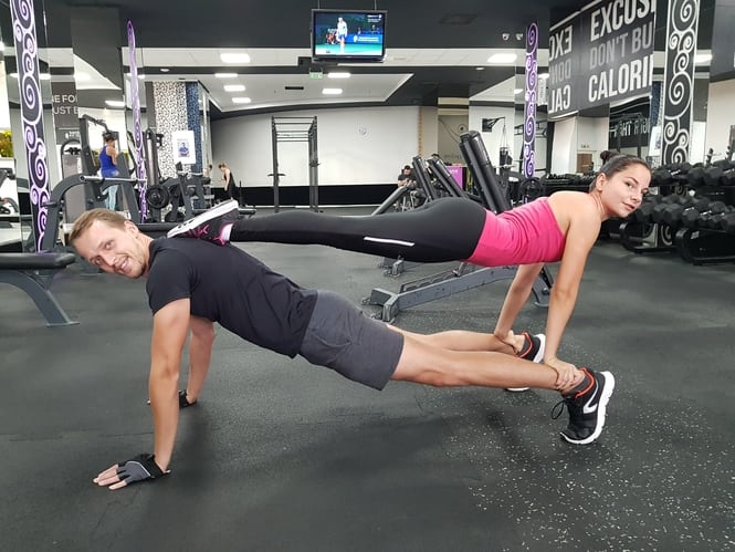 working out as a couple